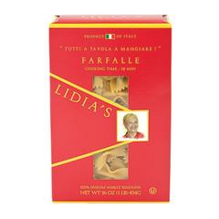 LIDIA'S FARFALLE PASTA 16 OZ BOX