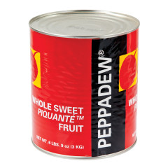 PEPPADEW MILD WHOLE SWEET PEPPERS 106 OZ CAN