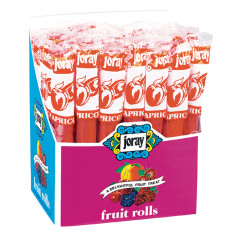 JORAY APRICOT FRUIT ROLLS 0.75 OZ
