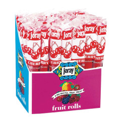 JORAY CHERRY FRUIT ROLLS 0.75 OZ
