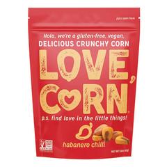 LOVE CORN HABANERO 1.6 OZ POUCH