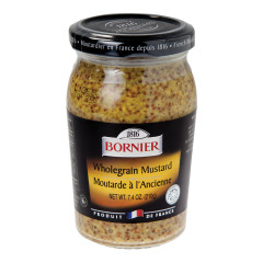 BORNIER WHOLEGRAIN MUSTARD 7.4 OZ JAR