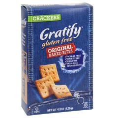 GRATIFY GLUTEN FREE ORIGINAL BAKED BITES 4.5 OZ BOX