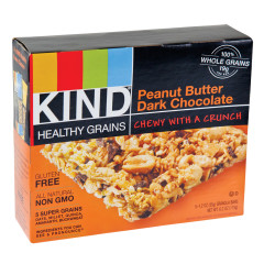 KIND PEANUT BUTTER DARK CHOCOLATE GRANOLA BARS 5 PC 6.2 OZ BOX
