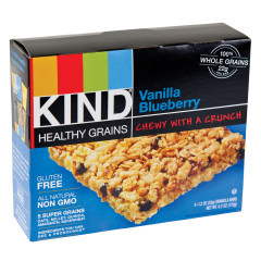 KIND VANILLA BLUEBERRY GRANOLA BARS 5 PC 6.2 OZ BOX