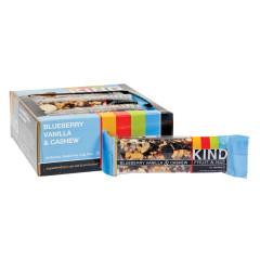 KIND BLUEBERRY VANILLA AND CASHEW 1.4 OZ FRUIT AND NUT BAR