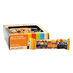 KIND MAPLE GLAZED PECAN AND SEA SALT 1.4 OZ BAR