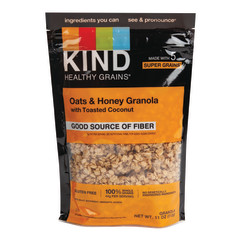 KIND OATS AND HONEY GRANOLA CLUSTERS 11 OZ POUCH