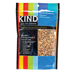 KIND VANILLA BLUEBERRY GRANOLA CLUSTERS 11 OZ POUCH