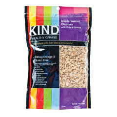 KIND MAPLE QUINOA GRANOLA CLUSTERS 11 OZ POUCH