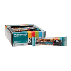 KIND DARK CHOCOLATE NUTS AND SEA SALT 1.4 OZ BAR