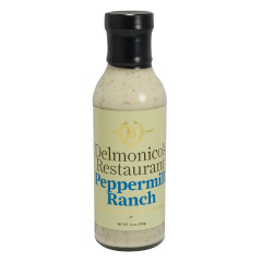 DELMONICO'S PEPPERMILL RANCH DRESSING 12 OZ BOTTLE