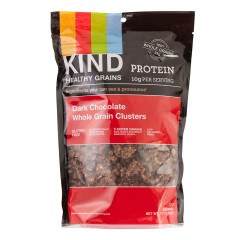 KIND GRAINS GRANOLA BAG DARK CHOCOLATE WHOLE GRAN CLUSTERS 11OZ