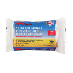 SCANDINAVIAN CRISPBREAD WITH OAT BRAN 3.5 OZ