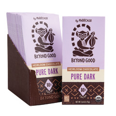 MADECASSE 80% DARK CHOCOLATE 2.64 OZ BAR