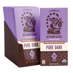 MADECASSE 92% DARK CHOCOLATE 2.64 OZ BAR