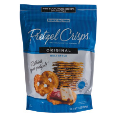 PRETZEL CRISPS ORIGINAL 7.2 OZ BAG