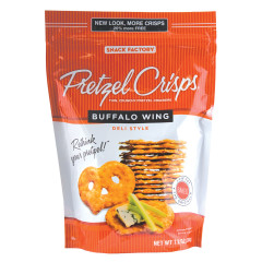 PRETZEL CRISPS BUFFALO WING 7.2 OZ BAG
