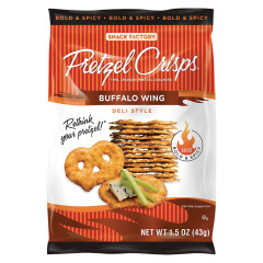 PRETZEL CRISPS BUFFALO WING 1.5 OZ BAG