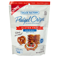 PRETZEL CRISPS GLUTEN FREE MINI ORIGINAL 5 OZ BAG