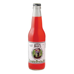 AVERY'S ZOMBIE BRAIN JUICE STRAWBERRY ORANGE SODA 12 OZ BOTTLE