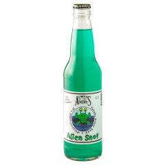 AVERY'S ALIEN SNOT KIWI BLUE RASPBERRY SODA 12 OZ BOTTLE