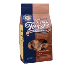 FRENCH TWISTS CHOCOLATE CHIP 4.5 OZ BAG