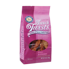 FRENCH TWISTS RASPBERRY 4.5 OZ BAG