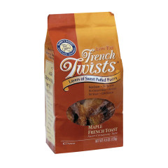 FRENCH TWISTS MAPLE FRENCH TOAST 4.5 OZ BAG
