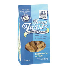 FRENCH TWISTS ALMOND 4.5 OZ BAG