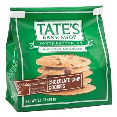 TATE'S CHOCOLATE CHIP COOKIES 3.5 OZ BAG