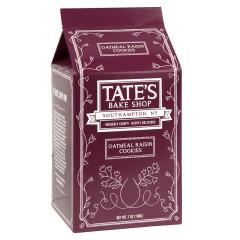 TATE'S OATMEAL RAISIN COOKIES 7 OZ BOX