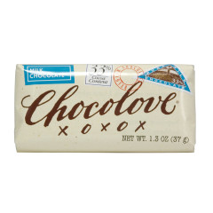 CHOCOLOVE MILK CHOCOLATE MINI 1.3 OZ BAR