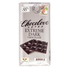 CHOCOLOVE EXTREME DARK CHOCOLATE 3.2 OZ BAR