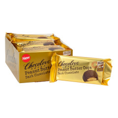 CHOCOLOVE DARK CHOCOLATE PEANUT BUTTER CUPS 1.2 OZ