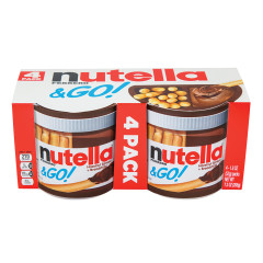 NUTELLA & GO 4 PACK 7.3 OZ