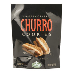 CLEVER COOKIE CHURRO COOKIES 6 OZ POUCH