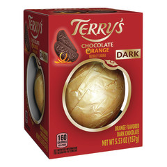 TERRY'S ORANGE FLAVORED DARK CHOCOLATE 5.53 OZ