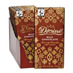 DIVINE MILK CHOCOLATE 3.5 OZ BAR