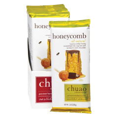 CHUAO DARK CHOCOLATE HONEYCOMB 2.8 OZ BAR