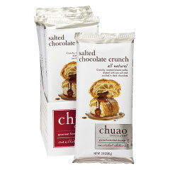 CHUAO MILK CHOCOLATE SALTED CHOCOLATE CRUNCH 2.8 OZ BAR