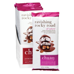 CHUAO MILK CHOCOLATE RAVISHING ROCKY ROAD 2.8 OZ BAR