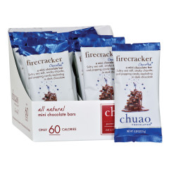 CHUAO MINI DARK CHOCOLATE FIRECRACKER 0.39 OZ BAR