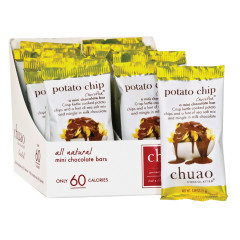 CHUAO MINI MILK CHOCOLATE POTATO CHIP 0.39 OZ BAR