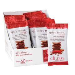 CHUAO MINI DARK CHOCOLATE SPICY MAYA 0.39 OZ BAR