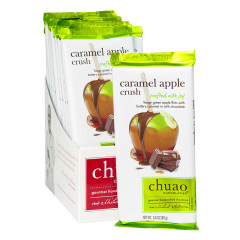 CHUAO MILK CHOCOLATE CARAMEL APPLE CRUSH 2.8 OZ BAR