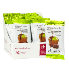 CHUAO MINI MILK CHOCOLATE CARAMEL APPLE CRUSH 0.39 OZ BAR