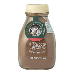 SILLYCOW MARSHMALLOW SWIRL HOT CHOCOLATE 16.9 OZ MILK BOTTLE