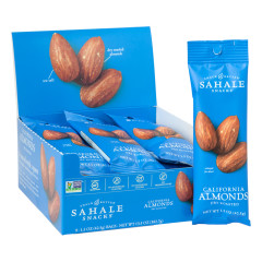 SAHALE DRY ROASTED CALIFORNIA ALMONDS 1.5 OZ BAG