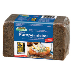 MESTMACHER PUMPERNICKEL BREAD 17.6 OZ